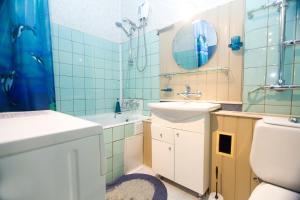 A bathroom at Nice Flats Smolenskaya