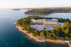 Hotel Parentium Plava Laguna с высоты птичьего полета