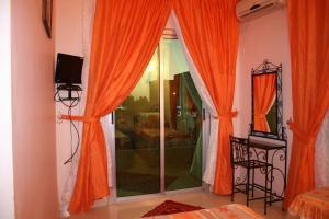 A bathroom at Hotel Benhama