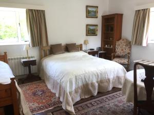A bed or beds in a room at Bressenden