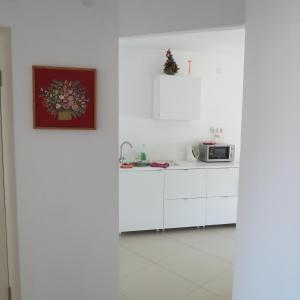 Кухня или мини-кухня в Апартаменты на Ул. Лагерная, д. 5а