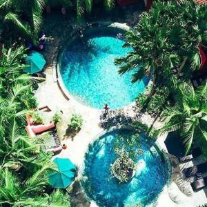 A view of the pool at PinkCoco Bali - for Cool Adults Only or nearby