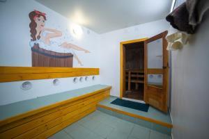 A bathroom at Akademicheskaya Inn