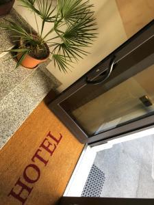 ホテル ラ カラヴェッラにあるキッチンまたは簡易キッチン