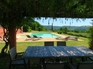 The swimming pool at or close to Domaine Les Causeries