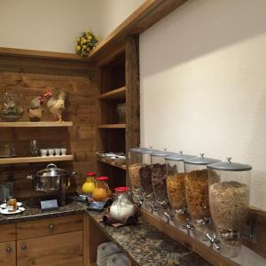 Küche/Küchenzeile in der Unterkunft Gasthaus Georg Ludwig Maising