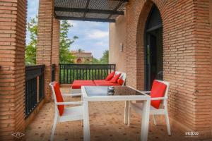 Balcon ou terrasse dans l'établissement Murano Resort Marrakech