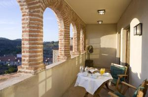 A restaurant or other place to eat at Parador de Plasencia