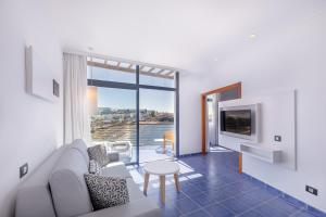 Zona de estar de Hotel THe Mirador Papagayo
