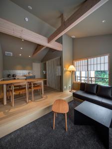 A seating area at Campton Kiyomizu Vacation Rental