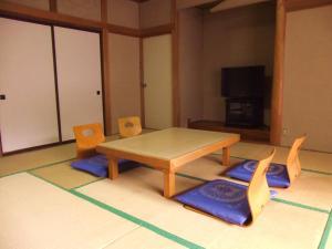 A television and/or entertainment center at Nishimiyasou