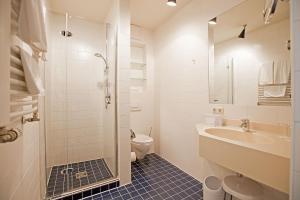 Ein Badezimmer in der Unterkunft Hotel Lehmeier
