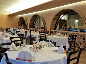A restaurant or other place to eat at Villaggio Dei Fiori