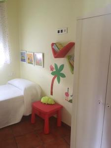 A bed or beds in a room at Casa Alma