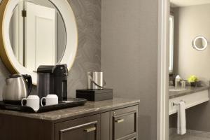 A bathroom at Fairmont Olympic Hotel