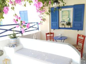 Ванная комната в Villa Spyros Studios