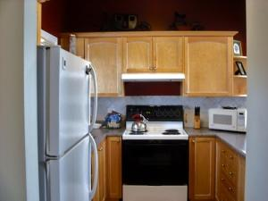 A kitchen or kitchenette at Highlands Four Season Resort