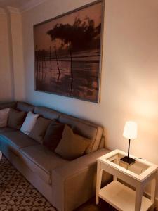 A seating area at Villa Suca