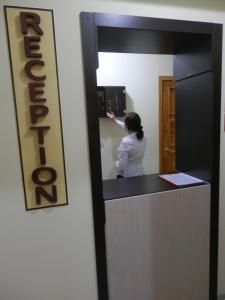 Лобби или стойка регистрации в Апарт Отель Доброславия