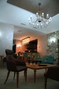 The lobby or reception area at GaiaChiara Resort