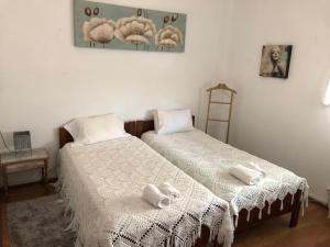 A bed or beds in a room at Residencia Maria Jose