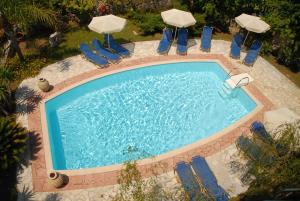 A view of the pool at Christoforos Apartments or nearby