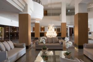 A seating area at Venus Beach Hotel