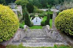 A garden outside Bodysgallen Hall and Spa