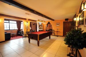 A pool table at The West Country Inn
