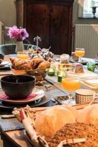 Ontbijt beschikbaar voor gasten van B&B Den Engel