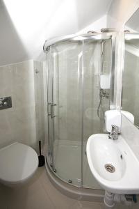 A bathroom at Willa Park Apartamenty