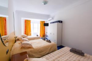 Cama o camas de una habitación en Apartamento Salud