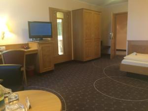 TV/Unterhaltungsangebot in der Unterkunft Hotel Alte Linde