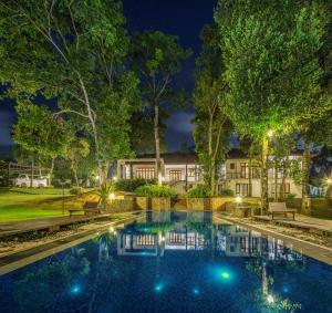 The swimming pool at or near Villa Crystals