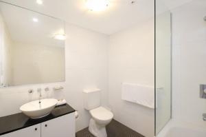 A bathroom at Astra Apartments Sydney