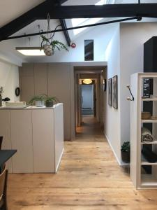 A kitchen or kitchenette at Loft Conversion in Northern Quarter