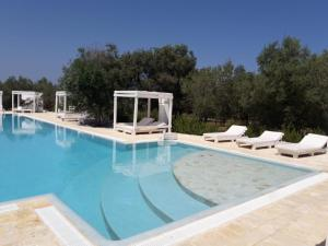 The swimming pool at or near Agriturismo Masseria San Leonardo