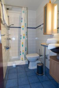 Ein Badezimmer in der Unterkunft Wennhof