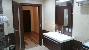 A bathroom at Chata Zdeňka Abertamy
