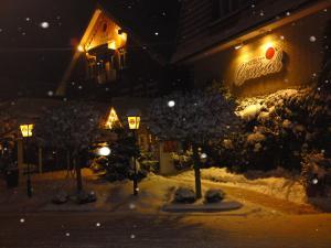 Hotel Central im Winter