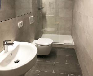 Ein Badezimmer in der Unterkunft Schönblick. Christliches Gästezentrum
