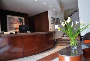 Vstupní hala nebo recepce v ubytování Hotel Mediterraneo Sa De Cv