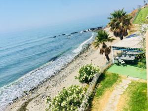 A bird's-eye view of La Perla Beachfront