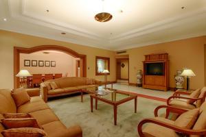 Grand Hotel Preangerにあるシーティングエリア