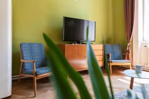 TV o dispositivi per l'intrattenimento presso Masaryk Apartments Prague