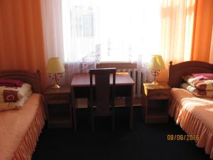 A seating area at Hotel Vinnytsia Sawoy
