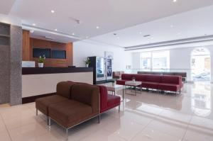 The lobby or reception area at Blubay Apartments by ST Hotels