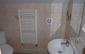Kúpeľňa v ubytovaní Penzión Nezábudka