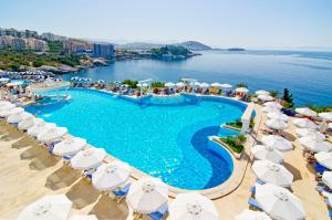 A view of the pool at Korumar Hotel Deluxe or nearby