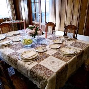 Un restaurante o sitio para comer en Hotel Serenade de Franz Schubert